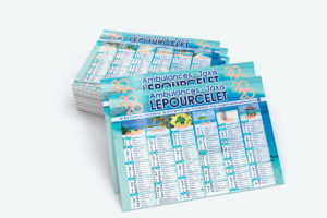 Calendrier Ambulances Lepourcelet